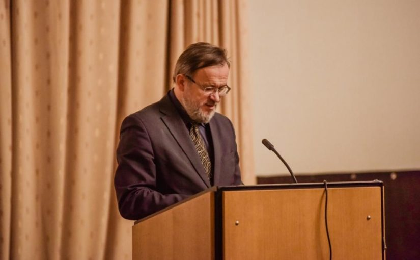 Заместитель Председателя Комиссии по церковной реабилитации Роман Михайлович Конь выступил на объединенной конференции духовенства Северного и Северо-Западного викариатств