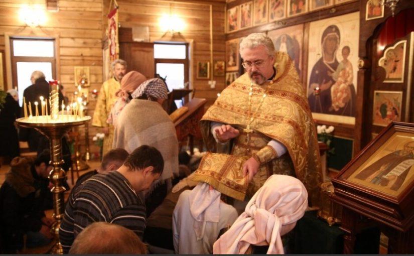 09 декабря совершен Чин присоединения к Православию