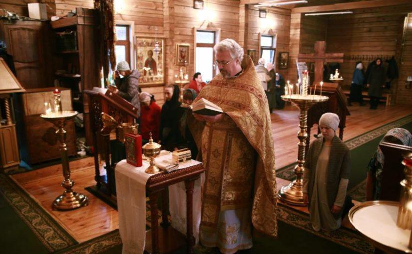 В Прощенное Воскресенье был совершен Чин присоединения к Православию