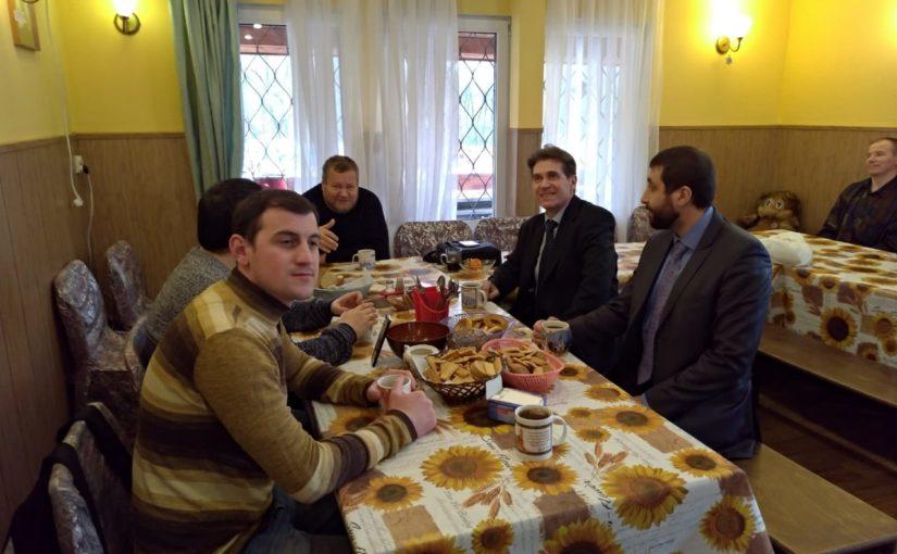Встреча  миссионеров храма Апостола Фомы с пасторами — неопротестантами