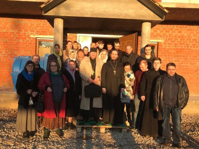 Выступление протоиерея Олега Стеняева перед приходскими миссионерами Юго-Западного викариатства