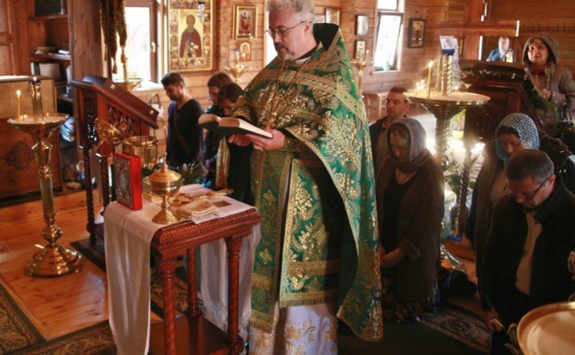 Присоединение к Православию в Вербное Воскресенье