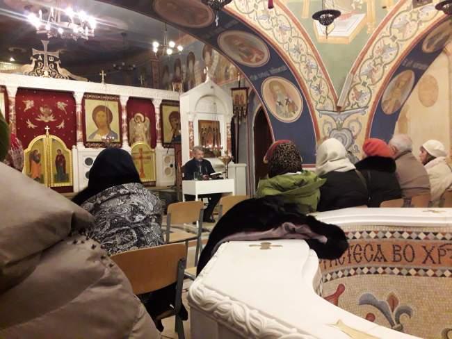Профилактический семинар в храме Покрова Пресвятой Богородицы в Ясеневе