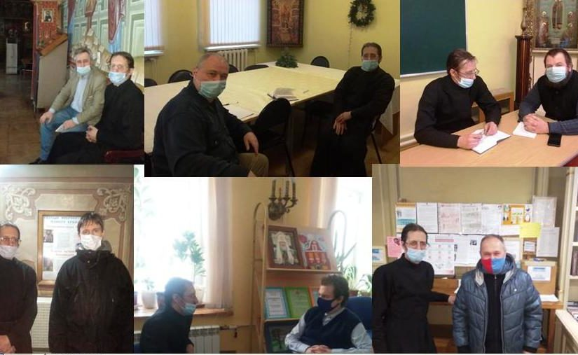 Серия рабочих встреч в Центральном викариатстве