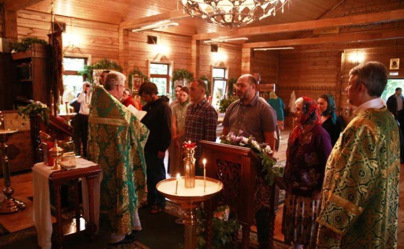 Присоединение к Православию в День Святой Троицы
